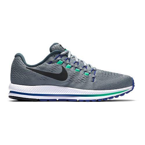 Mens Nike Air Zoom Vomero 12 Running Shoe - Grey/Blue 8.5