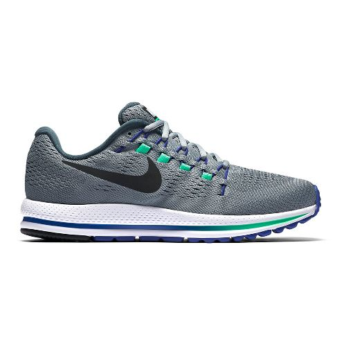 Mens Nike Air Zoom Vomero 12 Running Shoe - Grey/Blue 9