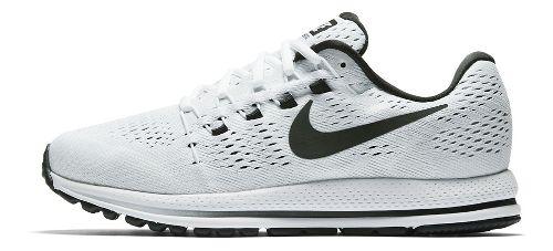 Mens Nike Air Zoom Vomero 12 Running Shoe - White/Black 9.5
