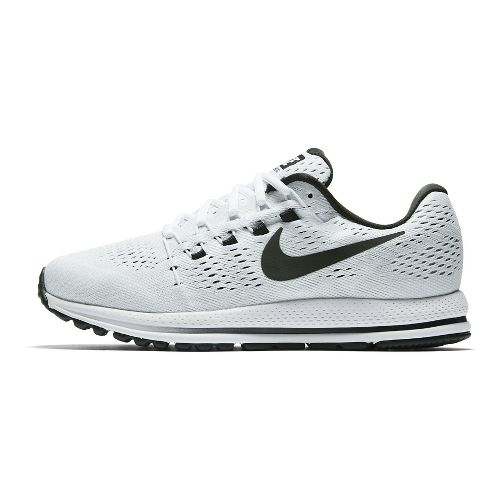 Mens Nike Air Zoom Vomero 12 Running Shoe - White/Black 12.5