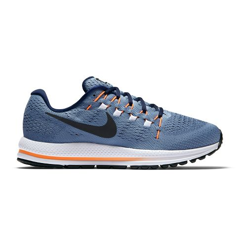 Mens Nike Air Zoom Vomero 12 Running Shoe - Blue/Obsidian 9
