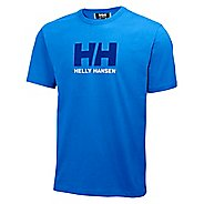 Mens Helly Hansen HH Logo T-shirt Short Sleeve Technical Tops