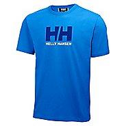 Mens Helly Hansen HH Logo T-shirt Short Sleeve Technical Tops