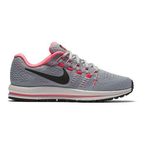 Womens Nike Air Zoom Vomero 12 Running Shoe - White/Black 9