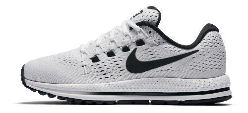 Womens Nike Air Zoom Vomero 12 Running Shoe - White/Black 8.5