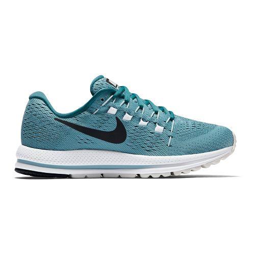 Womens Nike Air Zoom Vomero 12 Running Shoe - Blue 9.5