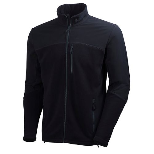 Mens Helly Hansen Crew Fleece Cold Weather Jackets - Black M