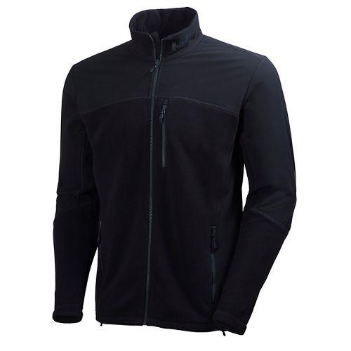 Mens Helly Hansen Crew Fleece Cold Weather Jackets - Black S