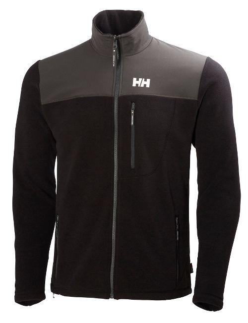 Mens Helly Hansen Sitka Fleece Cold Weather Jackets - Black L