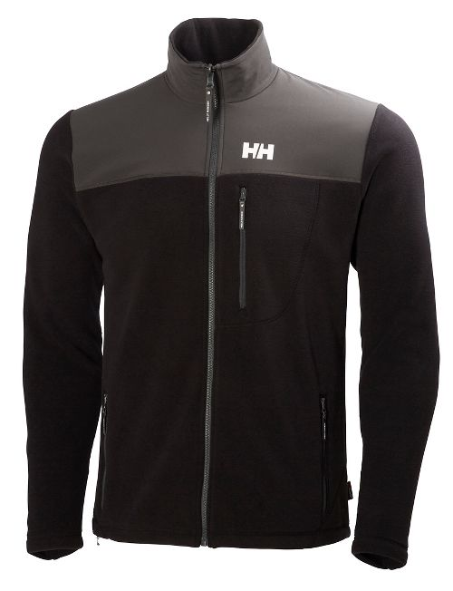 Mens Helly Hansen Sitka Fleece Cold Weather Jackets - Black S