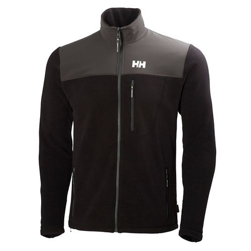 Mens Helly Hansen Sitka Fleece Cold Weather Jackets - Black XL