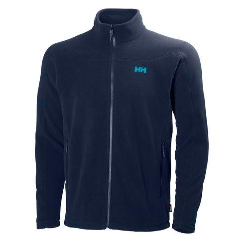 Mens Helly Hansen Velocity Fleece Cold Weather Jackets - Evening Blue XL
