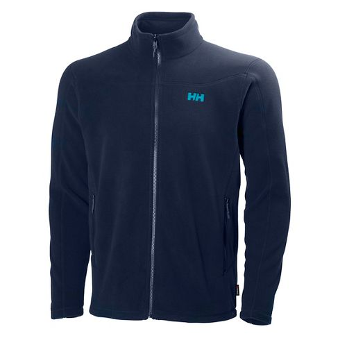 Mens Helly Hansen Velocity Fleece Cold Weather Jackets - Evening Blue XXL