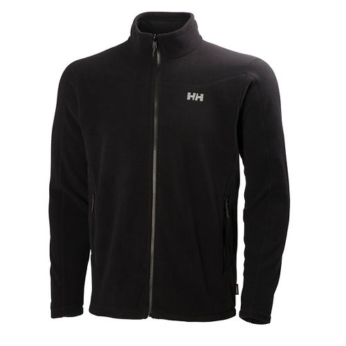 Mens Helly Hansen Velocity Fleece Cold Weather Jackets - Black XL