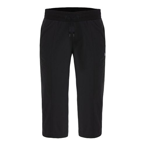 Womens Tasc Performance District II Capris Pants - Black XS