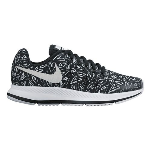 Kids Nike Air Zoom Pegasus 33 Print Running Shoe - Heart 5Y