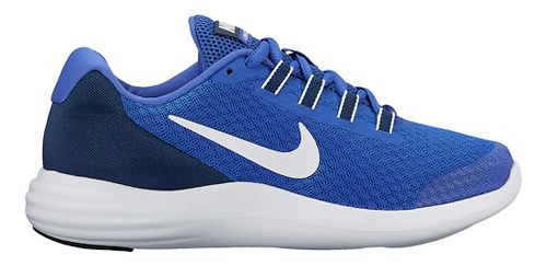 Kids Nike LunarConverge Running Shoe - Blue 6.5Y