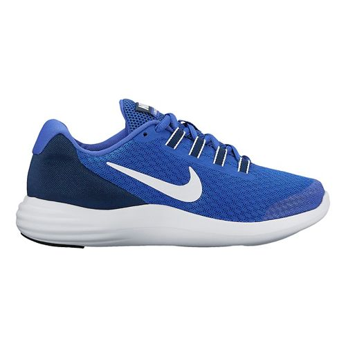 Kids Nike LunarConverge Running Shoe - Blue 3.5Y