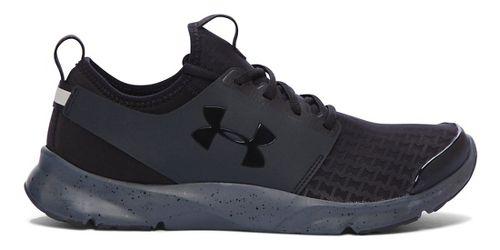 Mens Under Armour Drift RN Running Shoe - Black/Stealth Grey 10