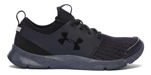 Mens Under Armour Drift RN Running Shoe - Black/Stealth Grey 7