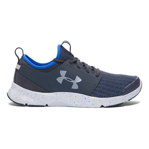 Mens Under Armour Drift RN Running Shoe - Stealth Grey/Blue 10