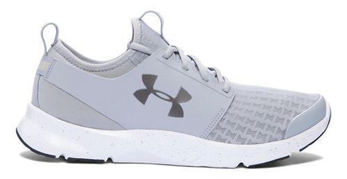 Mens Under Armour Drift RN Running Shoe - Overcast Grey/Grey 8.5