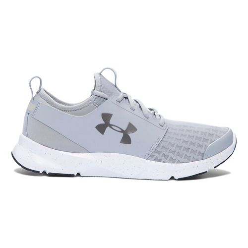Mens Under Armour Drift RN Running Shoe - Overcast Grey/Grey 12