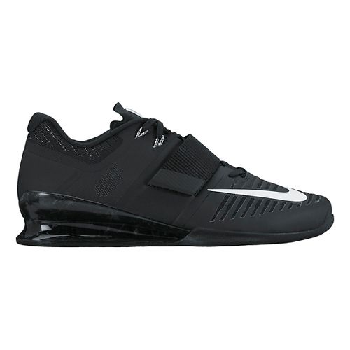 Mens Nike Romaleos 3 Cross Training Shoe - Black/White 9.5