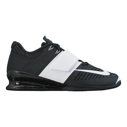 Womens Nike Romaleos 3 Cross Training Shoe - Black/White 10