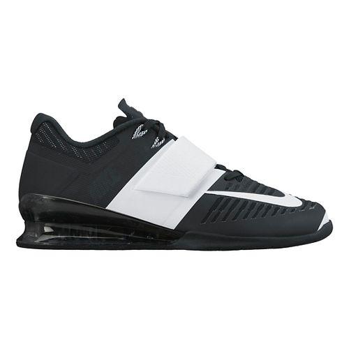 Womens Nike Romaleos 3 Cross Training Shoe - Black/White 8.5