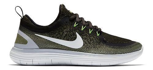 Mens Nike Free RN Distance 2 Running Shoe - Legion Green 11
