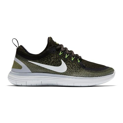 Mens Nike Free RN Distance 2 Running Shoe - Legion Green 12