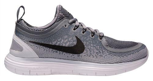 Womens Nike Free RN Distance 2 Running Shoe - White/Purple 10