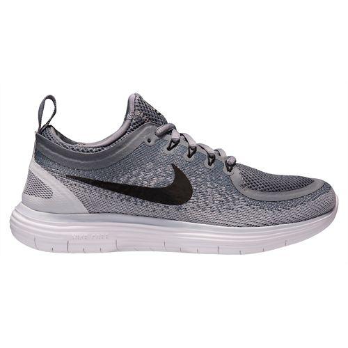 Womens Nike Free RN Distance 2 Running Shoe - Grey 7