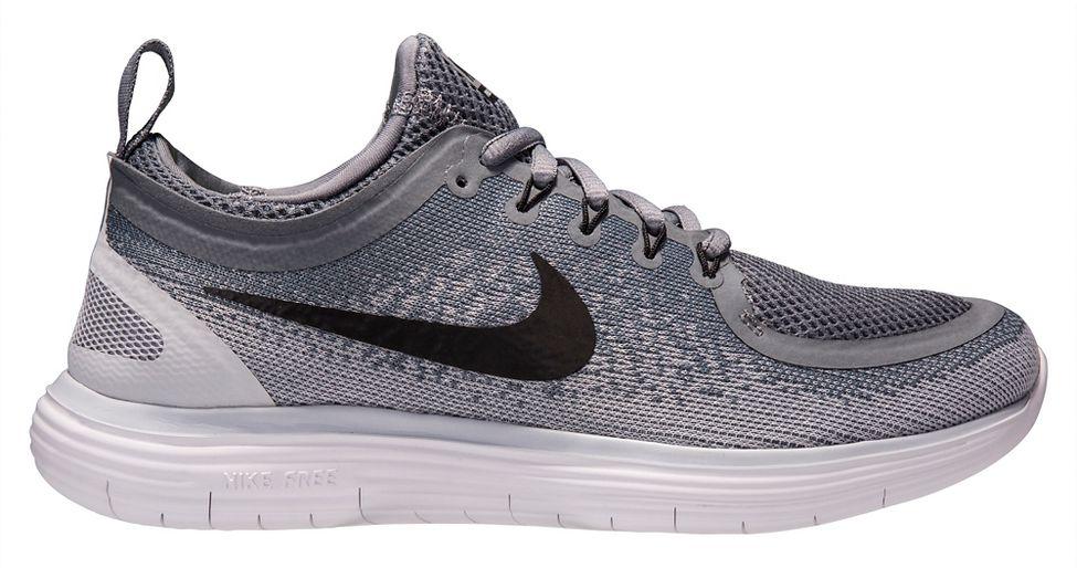nike grey cushioned shoe