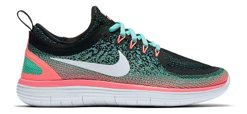 Womens Nike Free RN Distance 2 Running Shoe - Grey 8