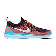 Womens Nike Free RN Distance 2 Running Shoe - Hot Punch 10.5