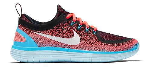 Womens Nike Free RN Distance 2 Running Shoe - Hot Punch 8