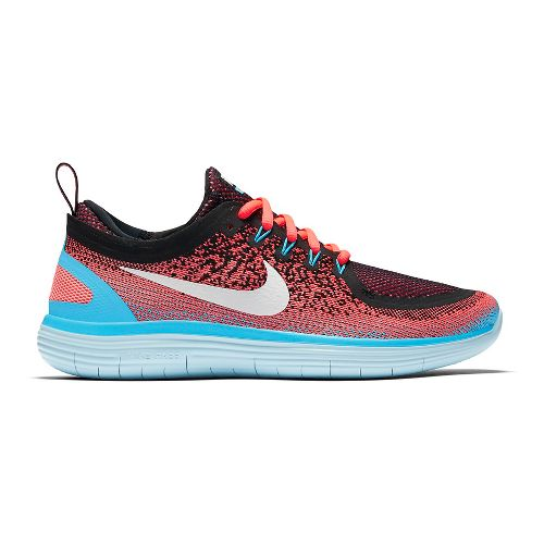 Womens Nike Free RN Distance 2 Running Shoe - Hot Punch 8.5