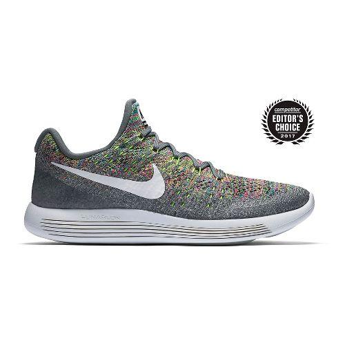 Mens Nike LunarEpic Flyknit 2 Running Shoe - Grey/Multi 9