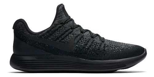 Mens Nike LunarEpic Flyknit 2 Running Shoe - Black/Black 10