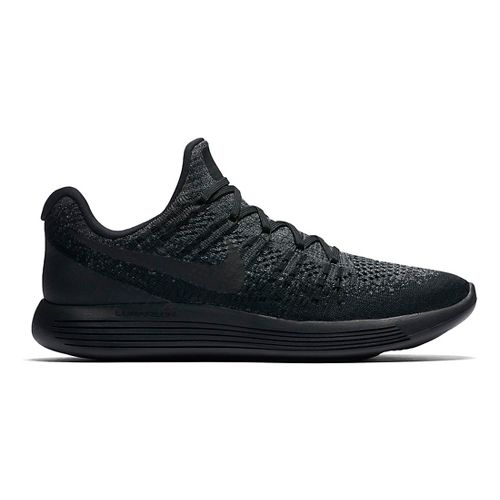 Mens Nike LunarEpic Flyknit 2 Running Shoe - Black/Black 12