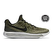 Mens Nike LunarEpic Flyknit 2 Running Shoe - Green/Black 9.5