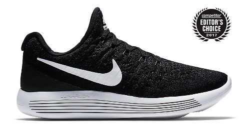 Women's Nike Lunarepic Flyknit 2 - Black/White 7.5