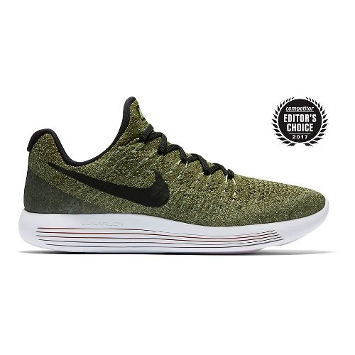 Womens Nike LunarEpic Flyknit 2 Running Shoe - Palm Green 8.5