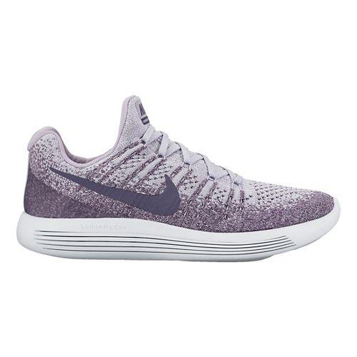 Womens Nike LunarEpic Flyknit 2 Running Shoe - Purple 10