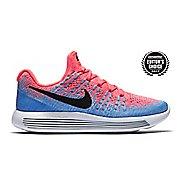 Womens Nike LunarEpic Flyknit 2 Running Shoe - Hot Punch 9