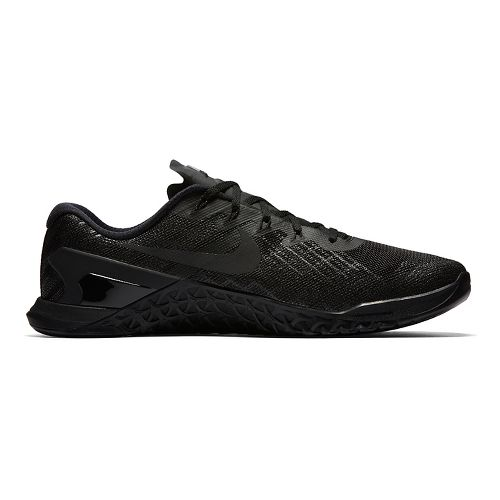 Mens Nike MetCon 3 Cross Training Shoe - Black/Black 9.5