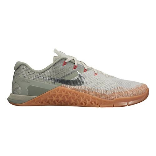 Mens Nike MetCon 3 Cross Training Shoe - Grey/Gum 11.5