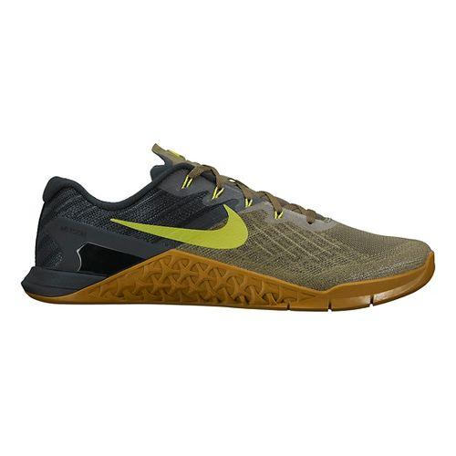 Mens Nike MetCon 3 Cross Training Shoe - Olive/Cactus 10.5